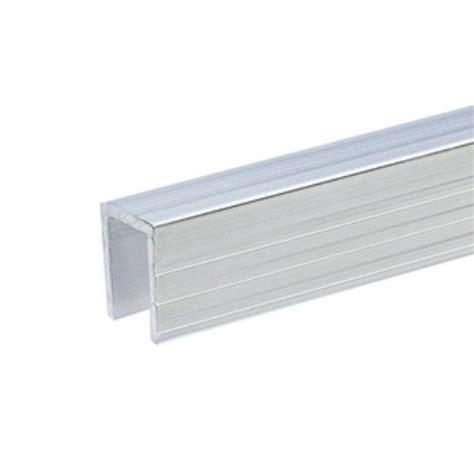 adam profil 233 aluminium de recouvrement pour parois