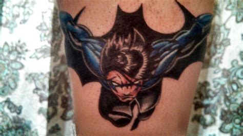 nightwing tattoo my new nightwing awesome