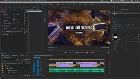 Adobe Improves Collaboration For Video Editing In Premiere Pro And After Effects Adobe Premiere Text Effects Templates