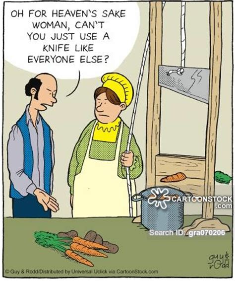 French Kitchen Knives by French Revolution Cartoons And Comics Funny Pictures