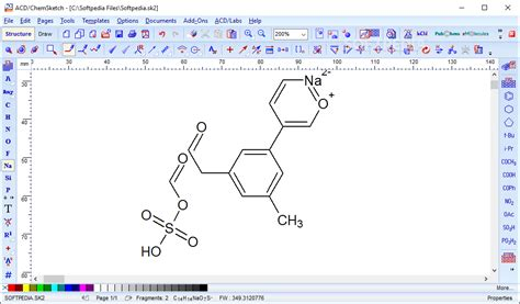 acd labs nmr processor academic edition  chemsketch