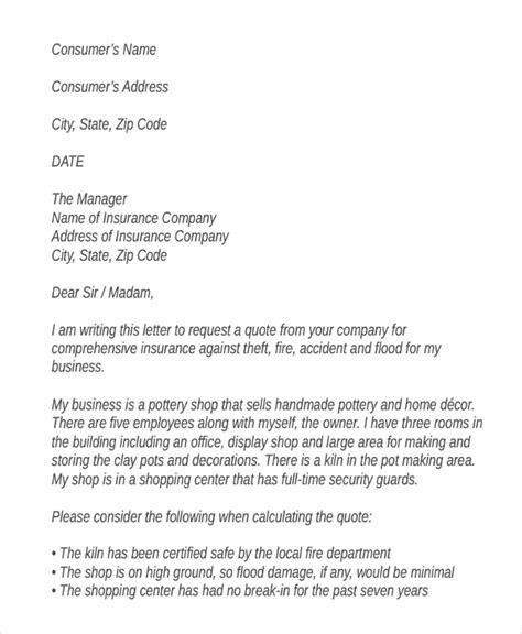 business letter sle asking quotation 45 request letter template free premium templates
