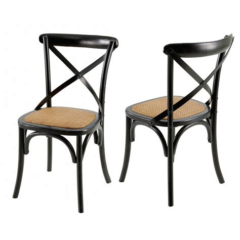 Chaise Bistrot by Chaises Bistrot Villa Florence Lot De 2 Mooviin