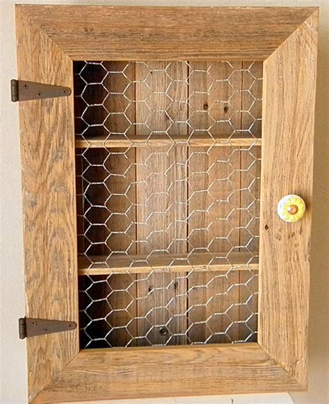 Rustic Cabinet Doors Country Cabinet Rustic Spice Cabinet With By Tdrusticreflections