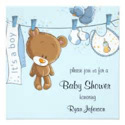 boy baby shower invitations announcements zazzle