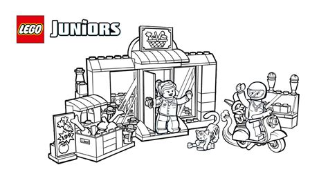 printable coloring pages grocery store lego 174 juniors sweet supermarket coloring page coloring
