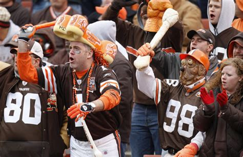dawg pound sections cleveland browns organization not on team jennifer