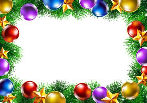 cornice natalizia photoshop cornici natalizie