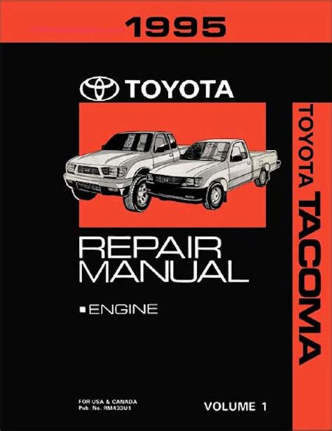 service manual books about how cars work 1995 gmc 2500 instrument cluster 1995 gmc vandura 1995 toyota tacoma truck oem repair manual rm433u
