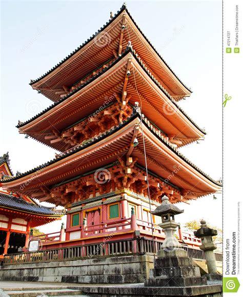 Japanese Zen Garden by Kiyomizu Temple At Kyoto In Japan Stock Image Image