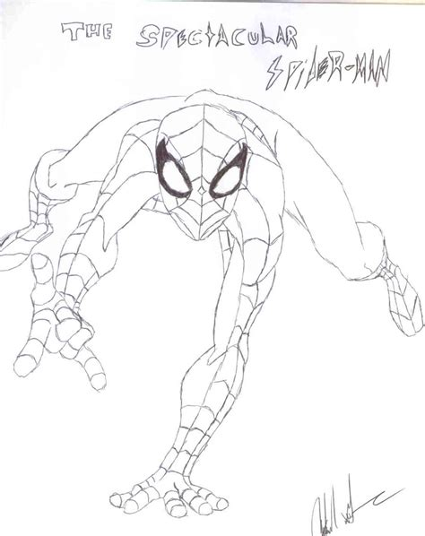 spectacular spider man free colouring pages