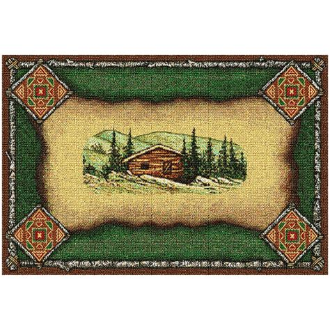 Cabin Placemats by Cabin Lodge Placemat
