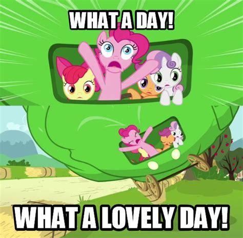 What A Lovely Day Meme