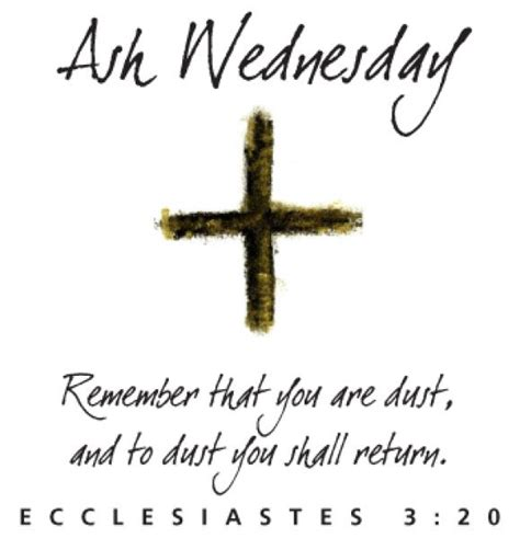ash wednesday new year cruce tectum ash wednesday