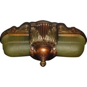 deco light fixtures deco slip shade flush mount ceiling light fixture or