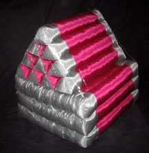 Thai Futon by Worldesigns Incorporated Solid Silk Futon Cushions