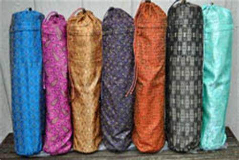 sari pattern yoga mat bags the barefoot yoga list of essentials for beginner yogis