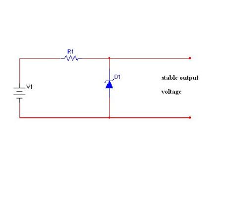 circuit diagram for zener diode as voltage regulator how to make zener diode regulators