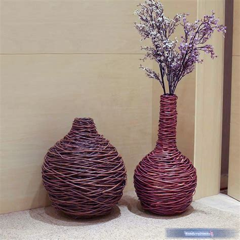 2015 new modern wicker home decoration accessories flower