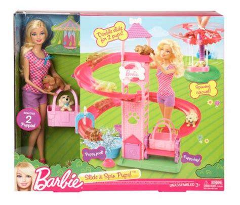 barbie speed boat target barbie slide spin pups playset 746775191429