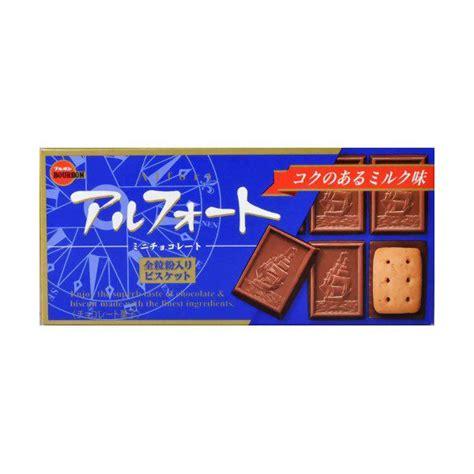 Bourbon Alfort Chocolate bourbon alfort mini chocolate 57g 4901360245567 2519036