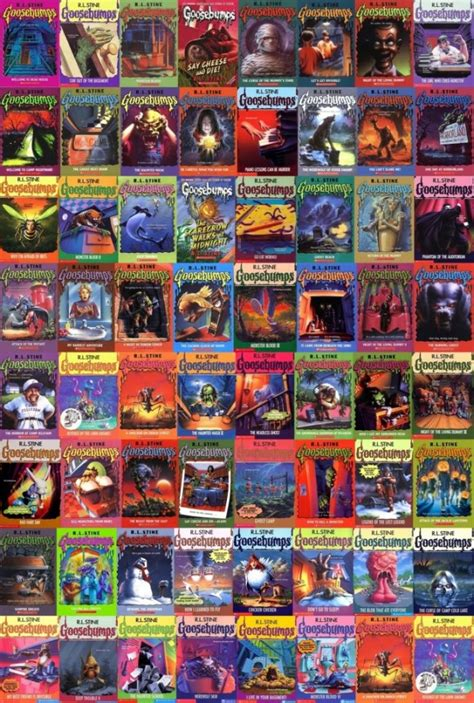 list of goosebumps books with pictures r l stine s goosebumps crawling to the big screen with