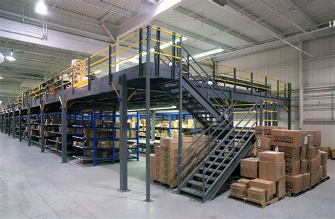 how building a mezzanine can increase storage and office space industrial mezzanines steel mezzanine floors