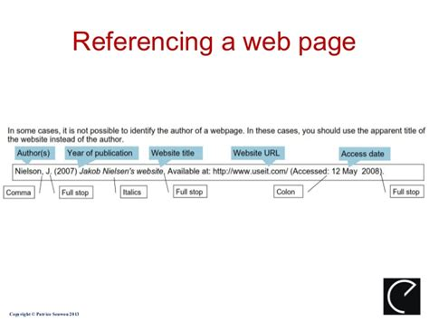 reference book website harvard referencing system