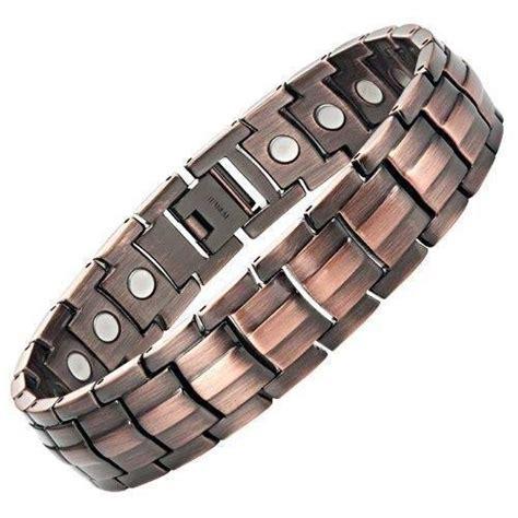 Mens Copper Magnetic Bracelet   eBay