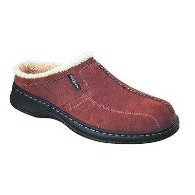 orthopedic slippers mens orthopedic footwear ortho s slippers brown