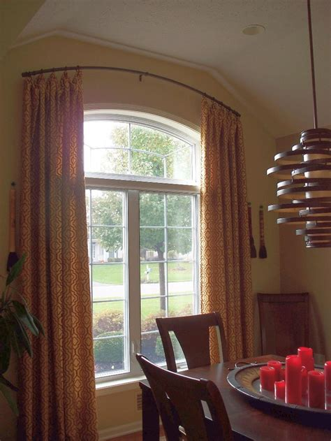 Blinds For Curved Windows Designs 25 Best Ideas About Arched Window Curtains On Arched Window Treatments Arch Window