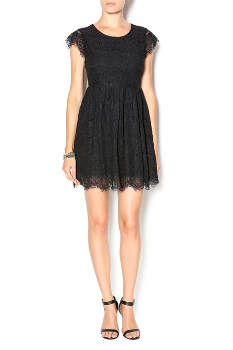 Bj 7826 Black Lace Dress hesperus black lace dress from oklahoma by cargo room