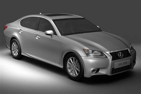 lexus models 2013 2013 lexus gs350 3d model buy 2013 lexus gs350 3d model