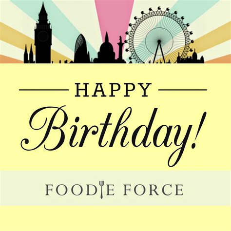 Happy For foodie one year of blogging