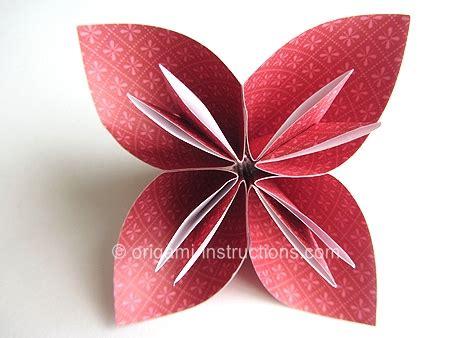 origami flowers for beginners origami flower easy beginner easy origami kusudama flower
