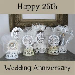 25th Birthday Party Decoration Ideas 6 Vintage Cake Toppers 25th Wedding Anniversary