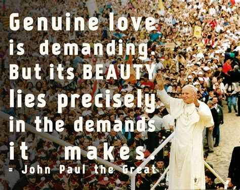 John paul ii quotes on love and marriage