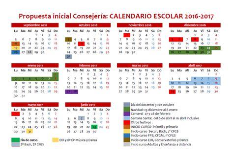 Calendario Escolar 2017 Asturias Sindicato De Ense 209 Anza Ccoo Le 211 N Propuesta De La