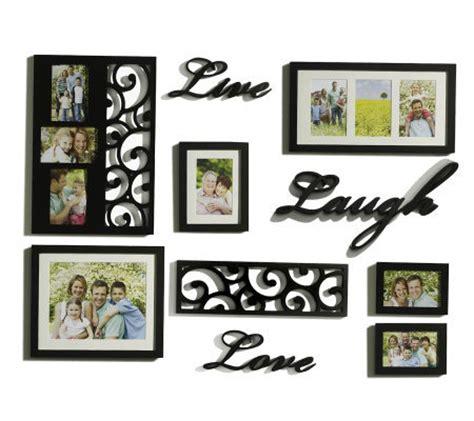 melannco 10 live laugh word frame wall decor