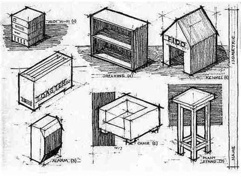 Isometric Furniture Drawing by Category Lessons Ms Chang S Classes