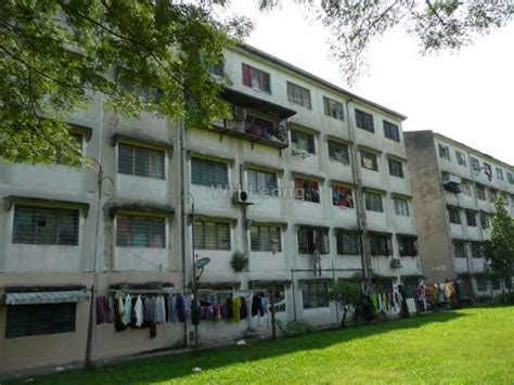 flat for sale flat for sale at taman dagang ang for rm 105 000 by wh