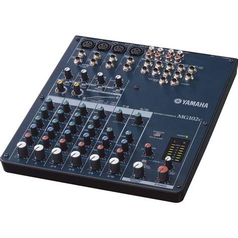 yamaha mg102c 10 input stereo mixer musical