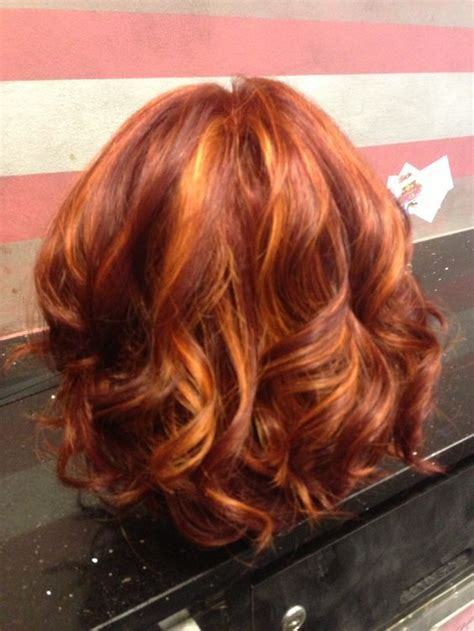 red and high and lowlight hairstyles red hair with lowlights beautiful hair colors for