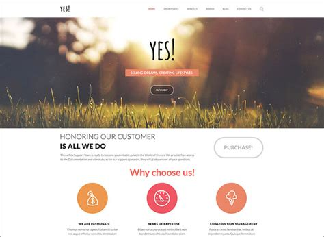 wordpress templates for advertising agencies 15 best advertising agency wordpress themes free website