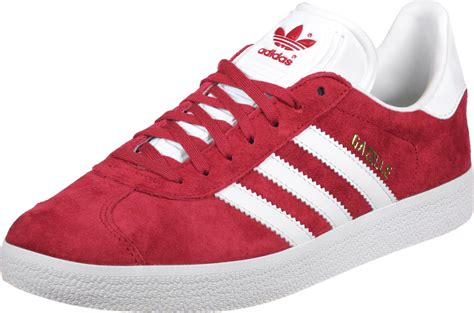 adidas red shoes adidas gazelle shoes red white