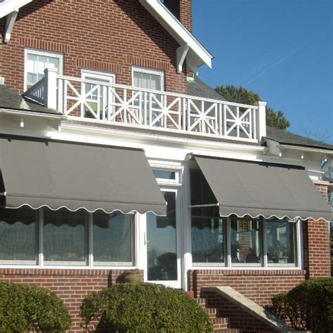 retractable awning michigan kalamazoo awnings commercial