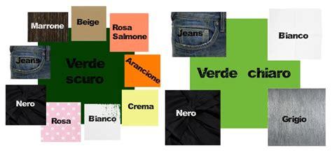 ufficio sta abbigliamento monicolour vari verdi e i loro abbinamenti