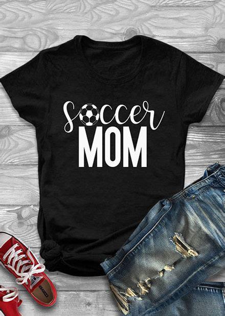 soccer mom short sleeve  shirt fairyseason