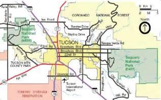directions saguaro national park u s national park