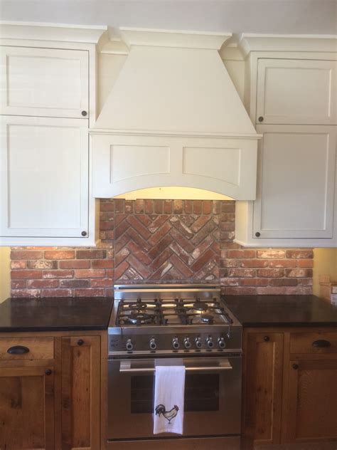 brick backsplash backsplash display vintage brick veneer